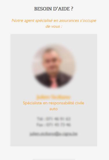 Aurelio Cigna - site web responsive détail expert par Pixiwooh!
