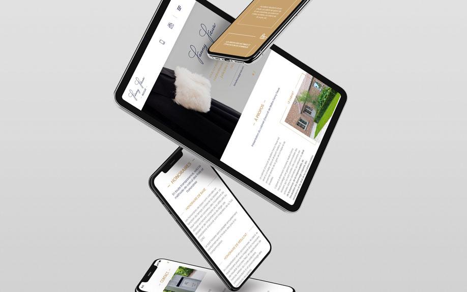 Avocat-Fieuw.be - site web responsive par Pixiwooh!