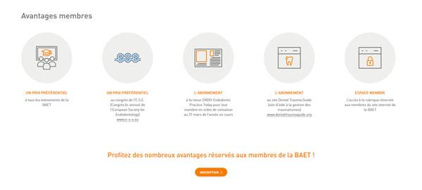 Baet.org - site web responsive par Pixiwooh!