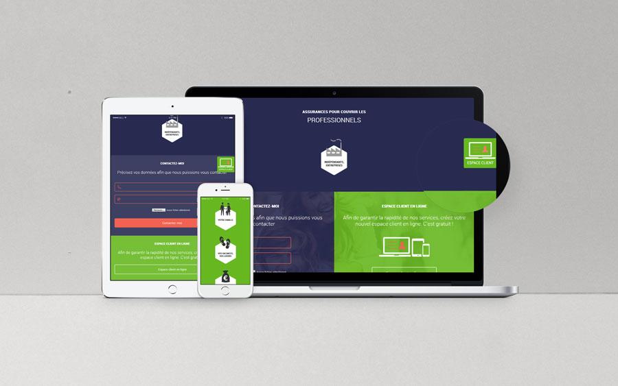 Bancassurimmo - site web responsive par Pixiwooh!