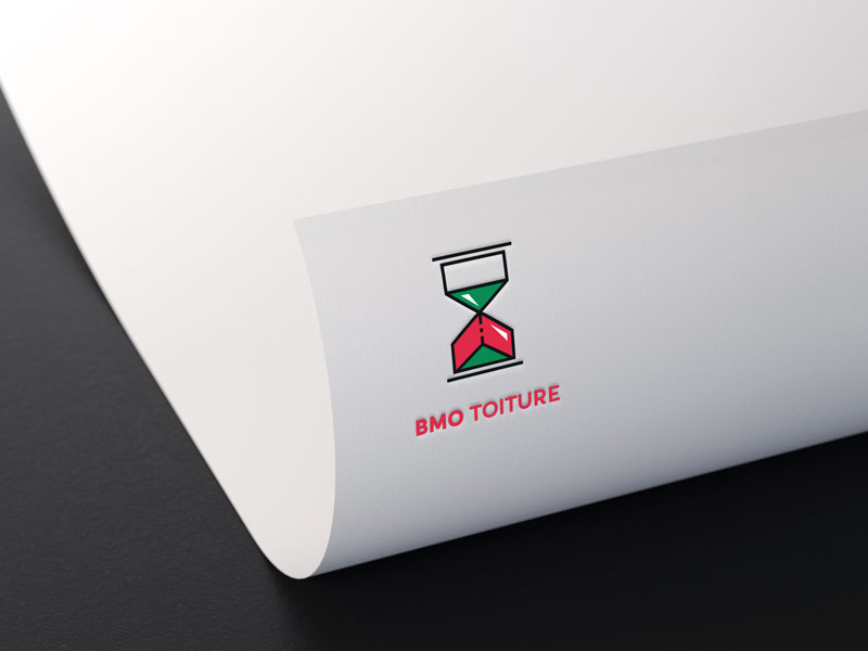BMO Toiture - logo par Pixiwooh!