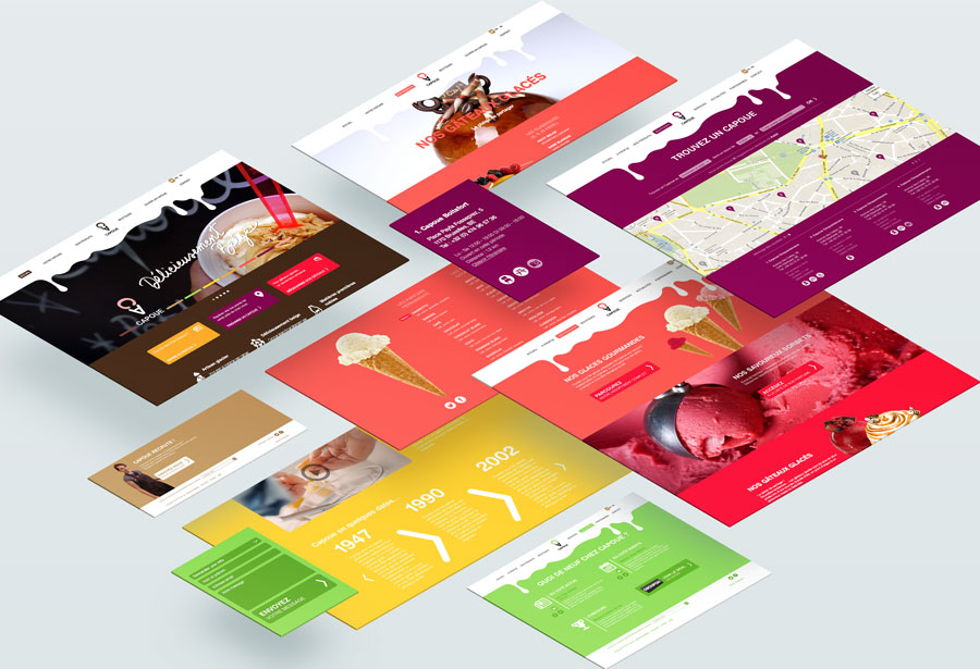 Capoue - site web par Pixiwooh!