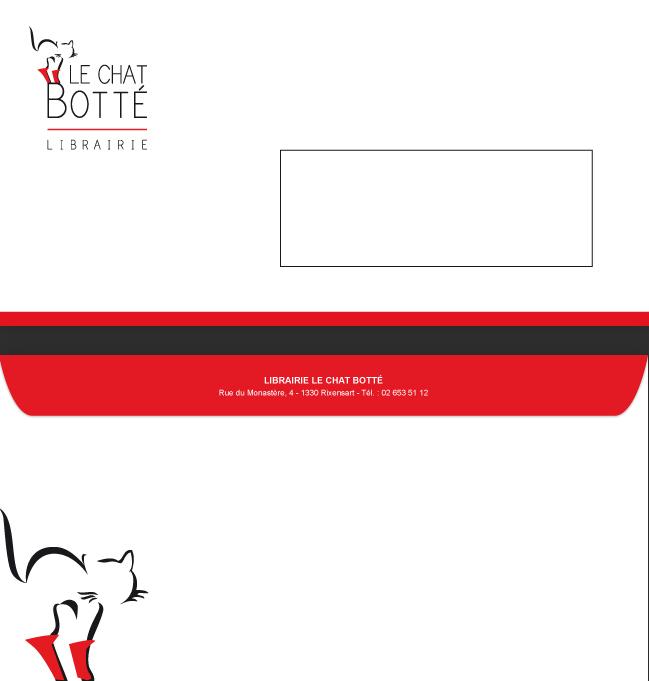 Le Chat Botté - enveloppe par Pixiwooh!