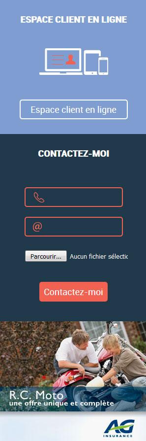 Dobbelstein - site web call to action espace client par Pixiwooh!