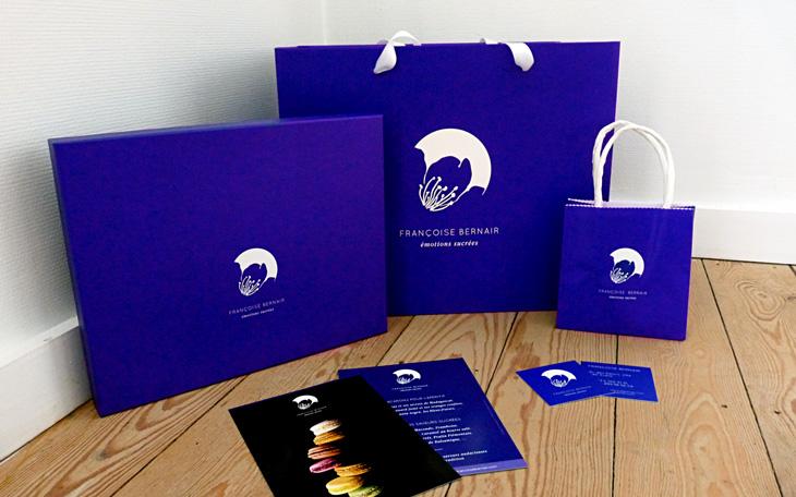 Françoise Bernair - packaging par Pixiwooh!