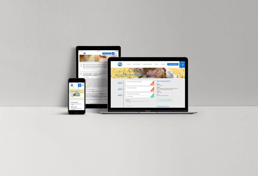 GBPF - site web responsive par Pixiwooh!