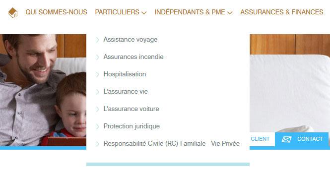 Alain Moons - site web détail par Pixiwooh!