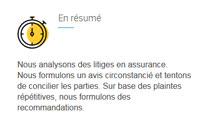 Ombudsman des assurances - site web responsive détail par Pixiwooh!