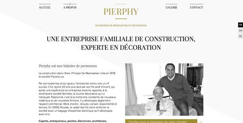 Pierphy - site web à propos par Pixiwooh!