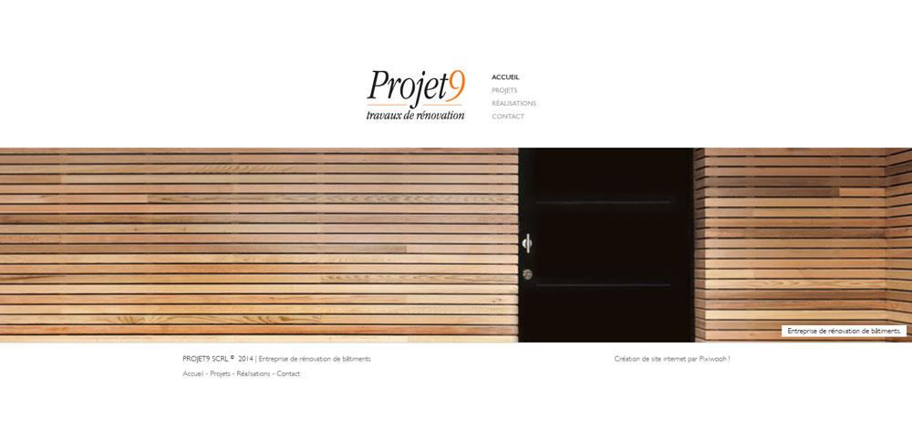 Projet9 - site web page d'accueil par Pixiwooh!