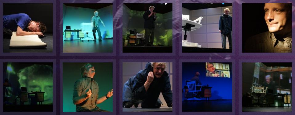 Le théâtre de la nuit - site web par Pixiwooh!