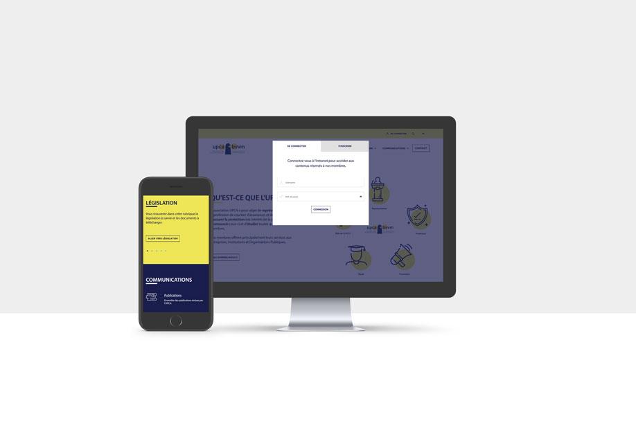 Bvvm.be - site web responsive avec intranet membres par Pixiwooh!